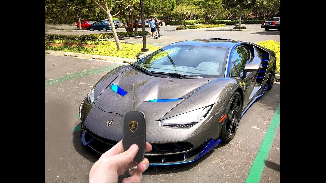 Guy Finds Keys To Lamborghini Drives Off Youtube