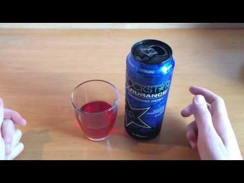 Rockstar XDurance Energy Drink Review/Test German/Deutsch HD