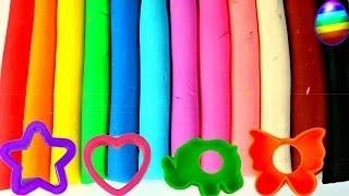 Aprende los colores con Plastilina Play-Doh helados, paletas, fruta...