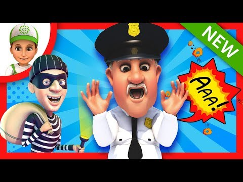 Cartoons. Adventure Handy Andy - In search of the police chief. Animations for children