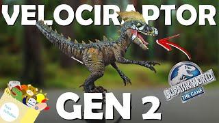 VELOCIRAPTOR GEN 2 LVL 40 | Jurassic World | Custom & Repaint | Toys InDaBox
