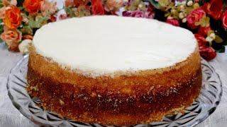 Torta De Queijo Ricota Com Cobertura De Nata