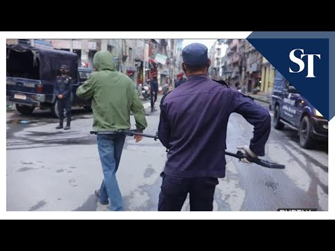 Covid-19: Nepal Police Use 'social Distancing Pliers' To Detain Lockdown Violators