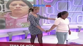 Rocio Sanchez Azuara vestido animalprint