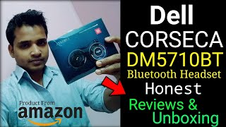 Dell CORSECA DM5710BT Bluetooth Wireless Headset Honest Unboxing amp Reviews Delivered From Amazon
