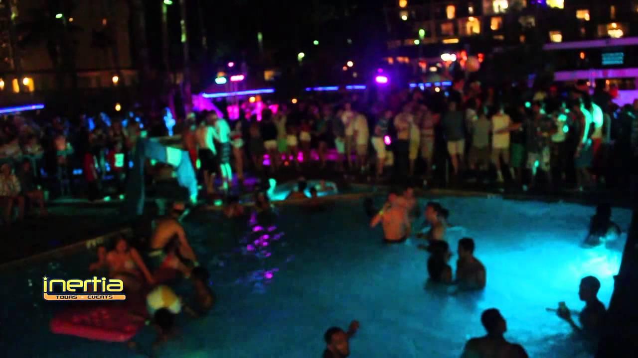 Infinity @ The Pool Party Isla Grand Inertia Tours Spring ...