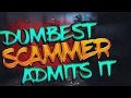 Dumbest CS:GO Scammer ADMITS TO SCAMMING! (Ft. MattCS)