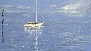 How to Get Inspired? Drawing of a Sailing Boat - Fine Art-Tips.