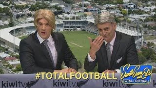 Total Football crosses to Kiwi TVs Terry and Jim