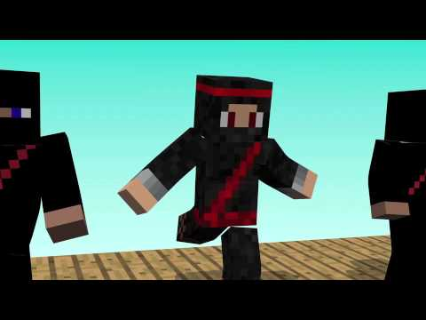 Clumsy Ninja-Day 1 (Minecraft animation)