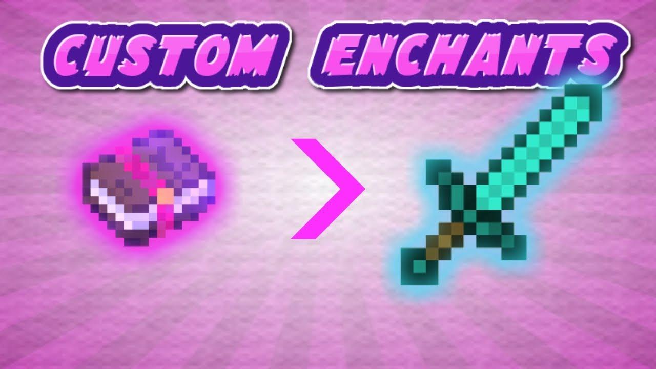 Custom Enchants in Minecraft 1 13+