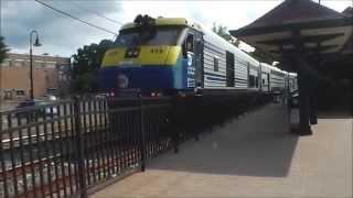 lirr train 6557 to jamaica at glen street