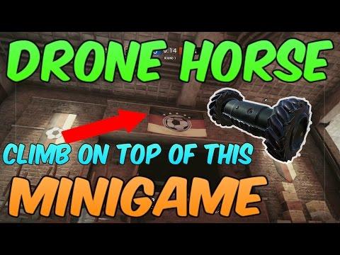 DRONE HORSE (Subscriber Minigame) | Rainbow Six Siege