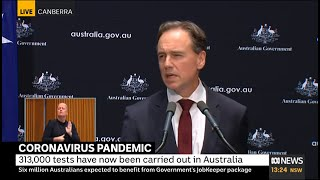Coronavirus: 11m more masks for healthcare workers, Health Minister Greg Hunt says | ABC News