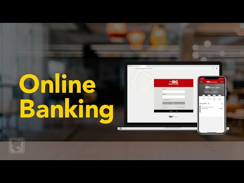 Online Banking With IBC Bank