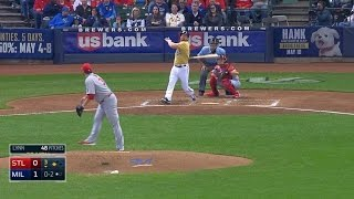 4/26/15: Lind's two-run homer lifts Brewers