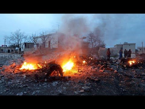 Russian jet shot down, pilot killed in Syria's Idlib Province