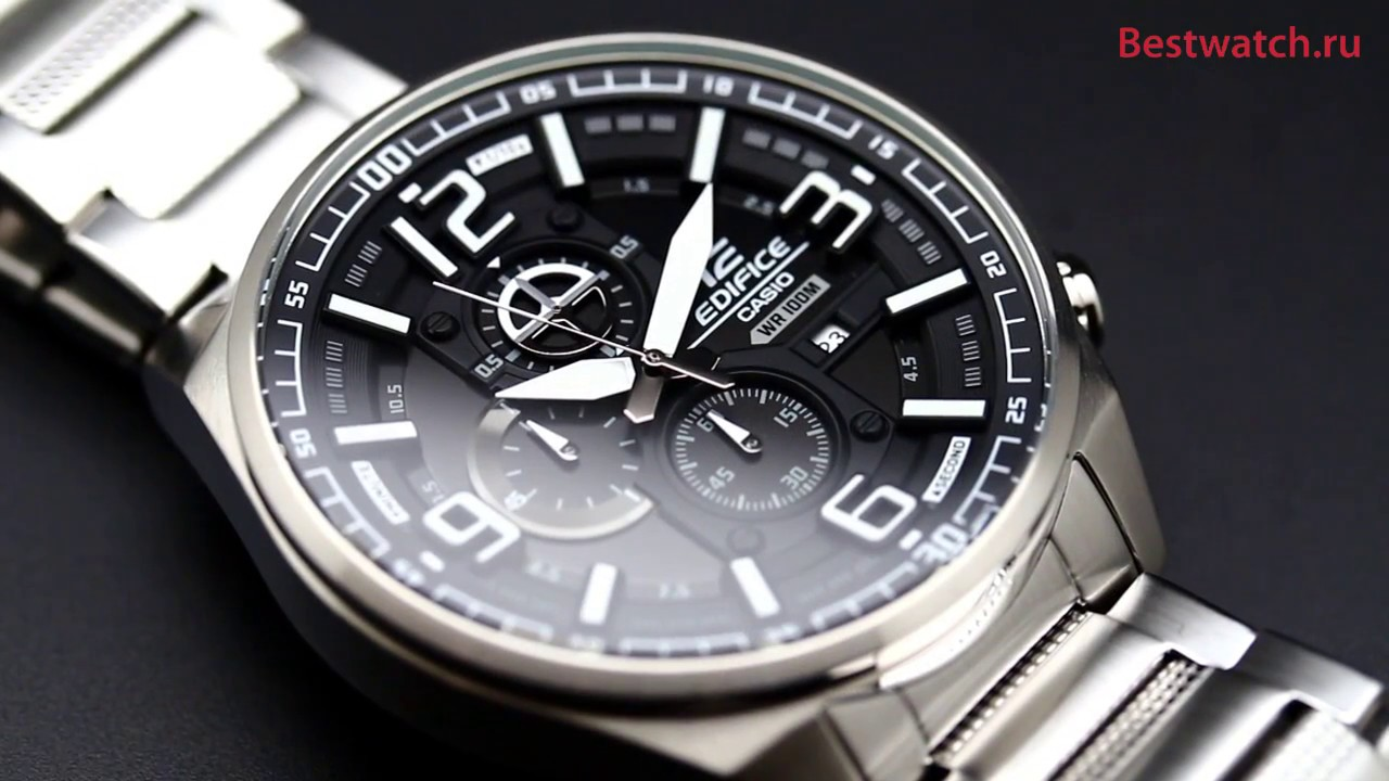 Casio Edifice Efr 555d 1a Youtube 538d 1av