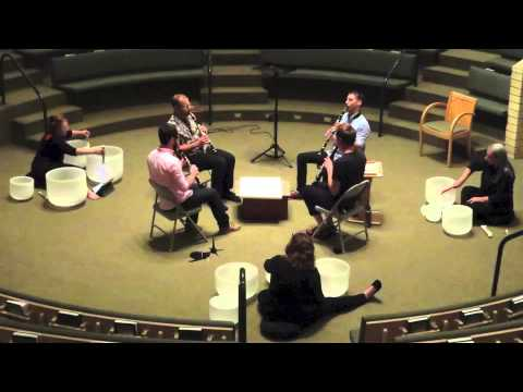 John McCowen - Clarinet Quartet no. 1 feat. Spiral of Sound Crystal Bowl Choir