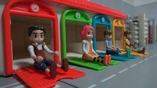 또봇 히어로 차고지 출동 장난감 놀이 Tobot Heroes Depature From Garage Toys Play