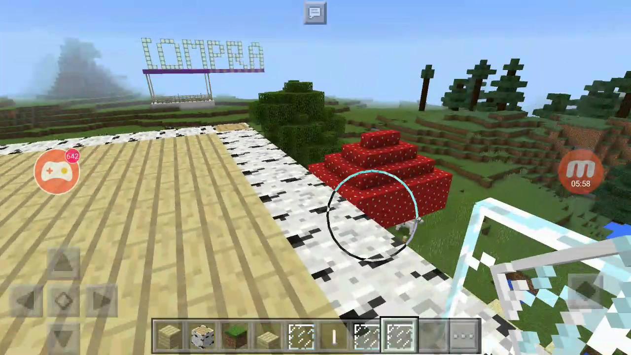Construyendo La Terraza De Mi Casa En Minecraft Pe