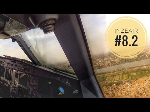 INZEAIR #8.2 - VISUAL APPROACH AND LANDING RWY 09 AT NIAMEY IN AN A330