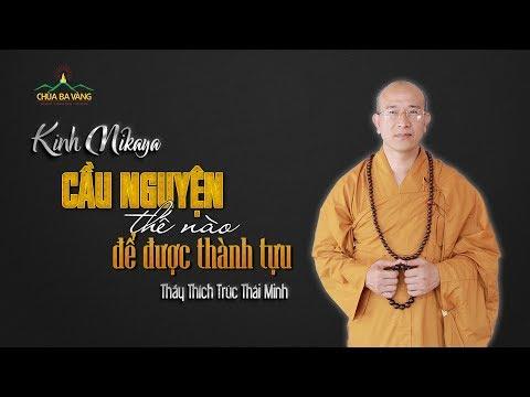 Cầu Nguyện Thế Nào Để Được Thành Tựu - Thích Trúc Thái Minh