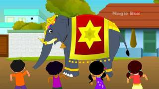 Kovil Yannai - Chellame Chellam - Pre School - Animated Rhymes For Kids