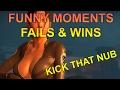 Left 4 dead 2 - Funny moments, fails & wins - Kick that nub