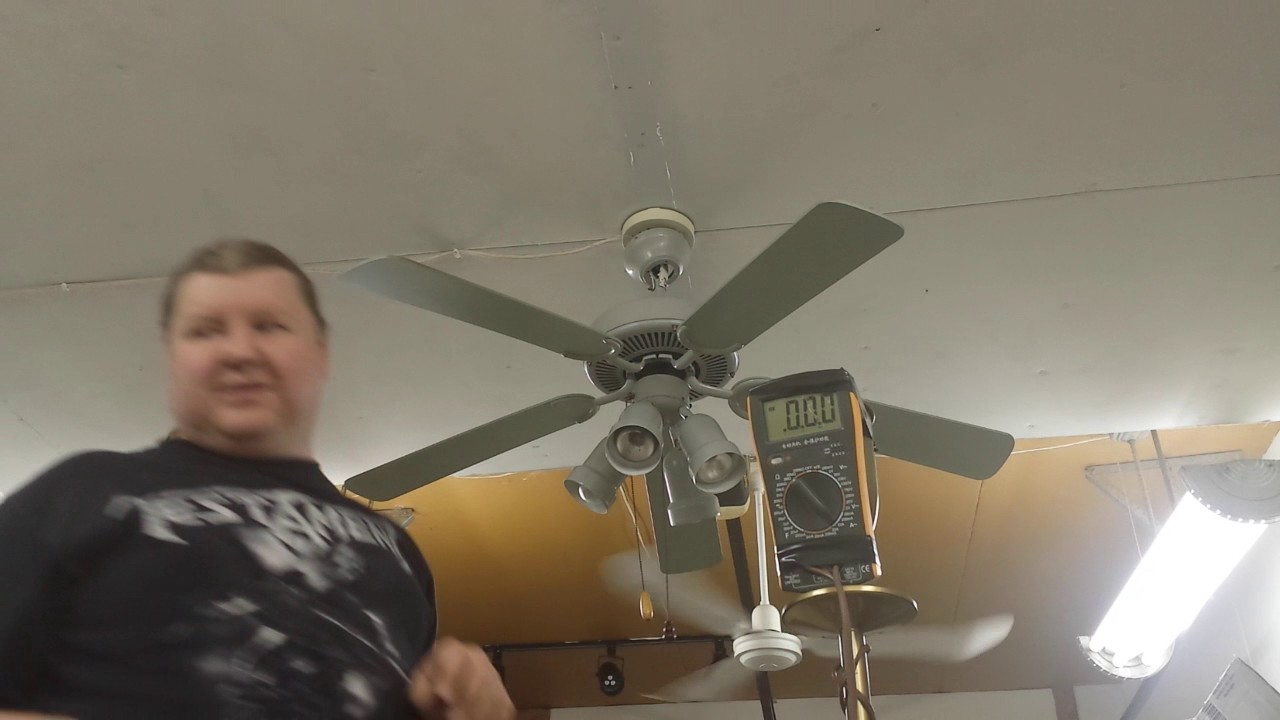 Menards Turn Of The Century Ceiling Fan Youtube