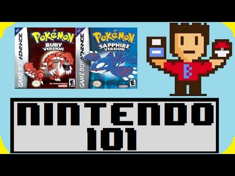 Nintendo 101 - The History of Pokemon Ruby/Sapphire!