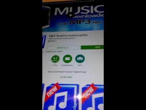 Come scaricare la musica gratis soltanto da una applicazione di play store
