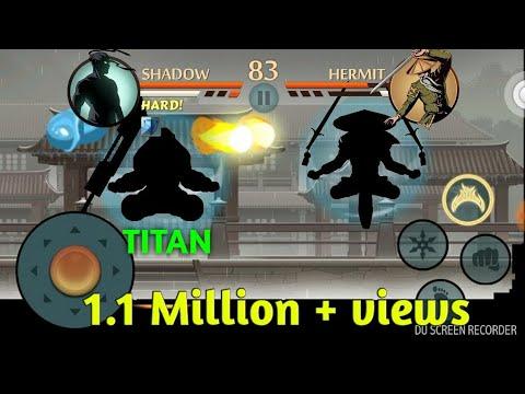 SHADOW FIGHT 2 SUPER MAGIC VS HERMIT'S MAGIC HERMI STORM