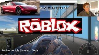Roblox Vehicle Simulator Tesla
