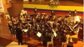 Monteadentro - Banda Sinfónica de Ramiriquí (Paipa 2013)