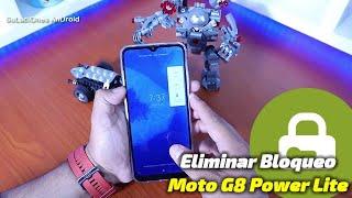 ELIMINAR Contraseña,Pin,Patron o Huella Dactilar Moto G8 Power Lite