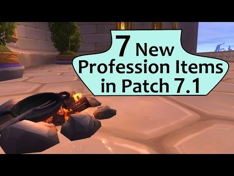 7 New Crafted Profession Items In Legion 7 1 Legion Clip60