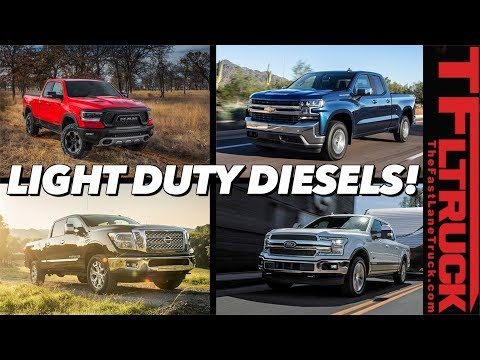 Half-Ton Diesel Trucks Are Here In Force! ...But Which One Is Best?