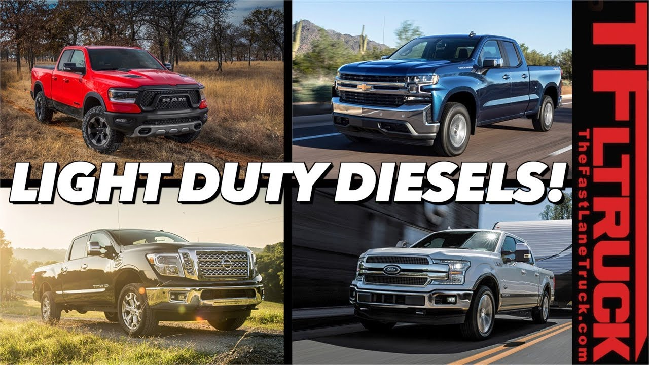 Half-Ton Diesel Trucks Are Here In Force!    But Which One Is Best?