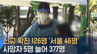 신규 확진 126명 '서울 46명'…사망…