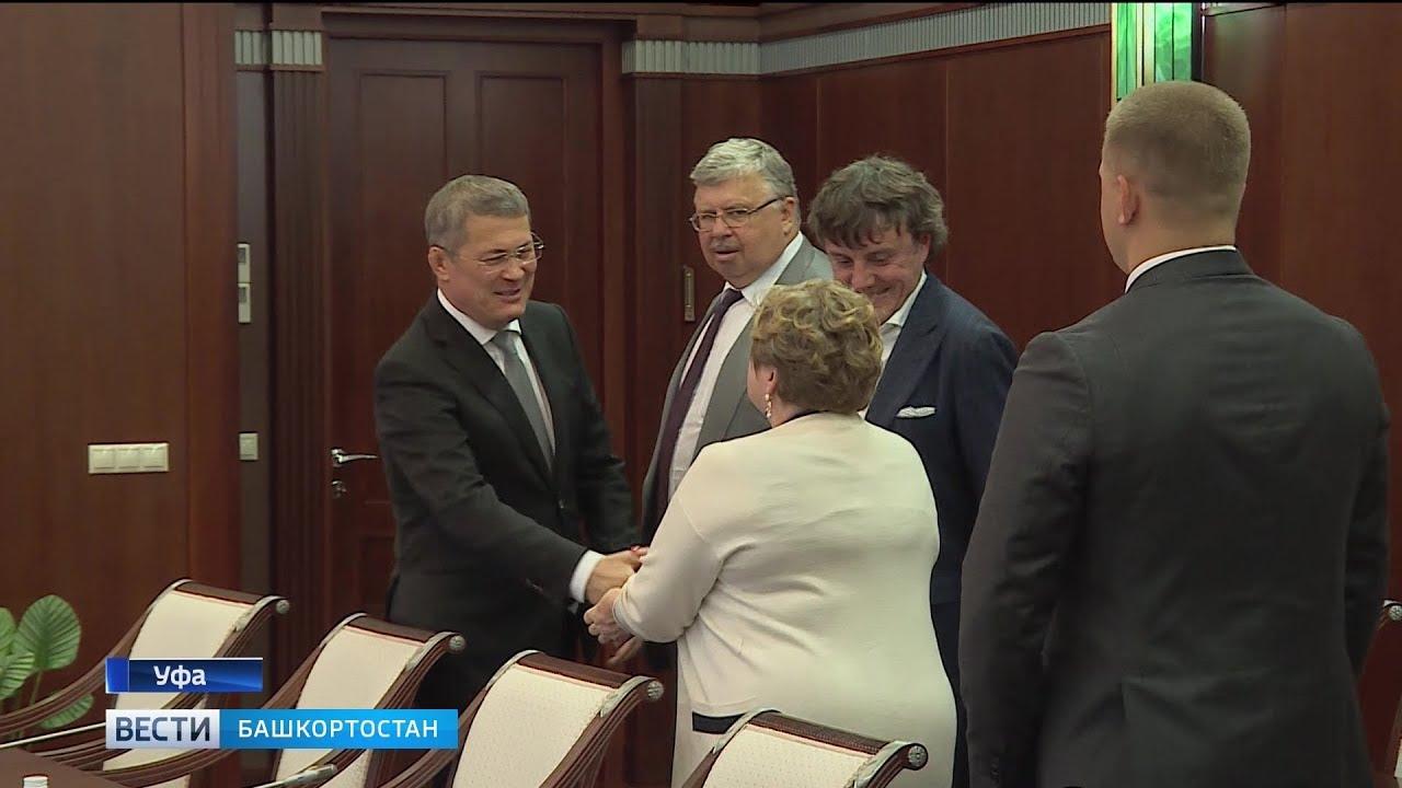 Радий Хабиров встретился с представителями «Ассамблеи народов Евразии»