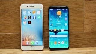 Samsung Galaxy S8 vs. iPhone 7 Plus: ¿Cuál es el mejor celular?