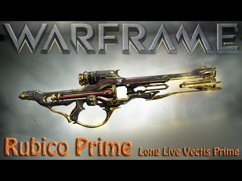 Warframe - Rubico Prime [Vectis Prime Killer?] thumbnail