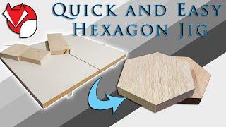 How To Make A Siṁple Cheap Hexagon Table Saw Jig!
