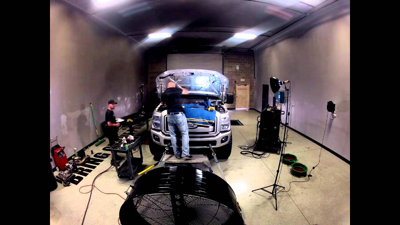 H s motorsports 6 7l powerstroke turbo kit dyno