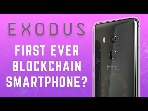 New Smartphone for Bitcoin & Ethereum from HTC