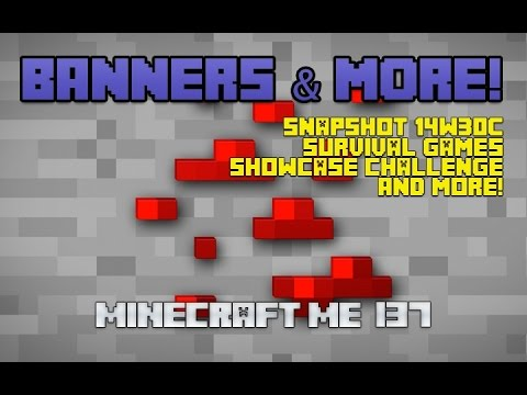 Minecraft Banners And Survival Games!
