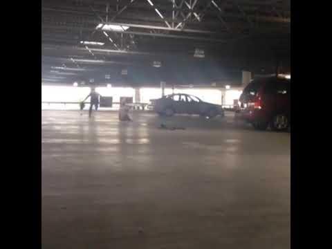 Parking garage prank gone wrong