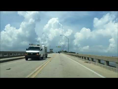 Beach Town Driving - Siesta Key Florida USA