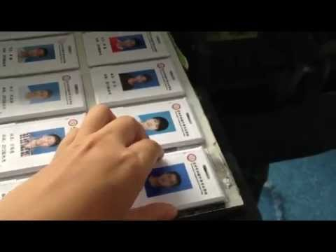 Small Uv Printer For Id Card Printing Youtube